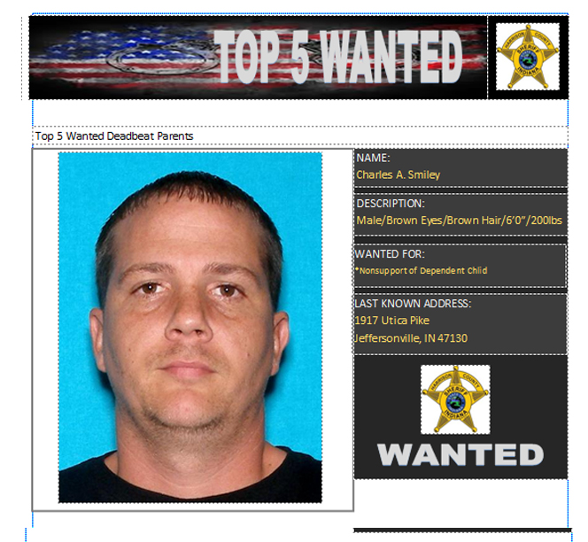 Harrison County Sheriff's Most Wanted